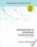 Introduction to Leadership - International Student Edition