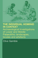Pdf Hominid Individual in Context Telecharger
