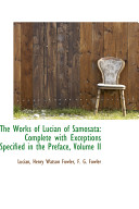 Pdf The Works of Lucian of Samosat