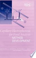 Capillary Electrophoresis for Food Analysis