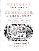 Histoire du Concile de Constance,