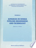 Advances in Subsea Pipeline Engineering and Technology Book