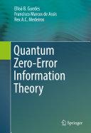 Quantum Zero-Error Information Theory [Pdf/ePub] eBook