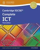 Cambridge IGCSE Complete ICT  Student Book  Third Edition