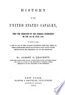 History Of The United States Cavalry