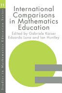 International Comparisons in Mathematics Education