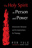 The Holy Spirit as Person and Power Pdf/ePub eBook
