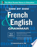 Side By Side French and English Grammar  3rd Edition