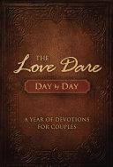 The Love Dare Day by Day Pdf/ePub eBook