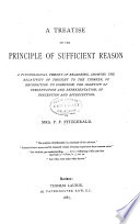 A Treatise on the Principle of Sufficient Reason
