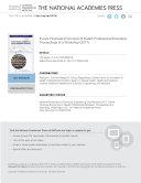 Future Financial Economics of Health Professional Education