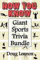 Now You Know — Giant Sports Trivia Bundle: Now You Know Golf ...