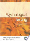 Psychological Testing Book
