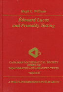 Edouard Lucas and Primality Testing