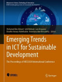 Emerging Trends in ICT for Sustainable Development