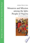 Mmanwu and Mission among the Igbo People of Nigeria