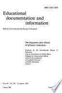 Educational Documentation and Information