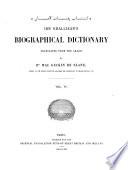 Biographical Dictionary Book