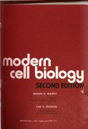 Modern Cell Biology
