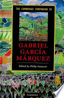The Cambridge Companion to Gabriel Garc  a M  rquez Book
