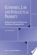 Economics  Law and Intellectual Property