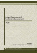Natural Resources and Sustainable Development [Pdf/ePub] eBook