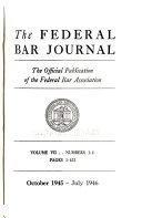 Federal Bar Journal