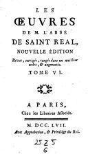 Traites historiques de Litterature & de Critique