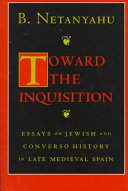 Read Online Toward the Inquisition For Free