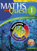 Cover of Maths Quest 1 for Queensland