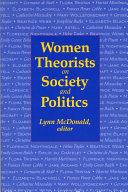 Women Theorists on Society and Politics