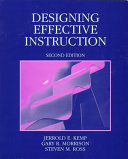 Designing Effective Instruction Book