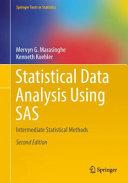 Statistical Data Analysis Using SAS
