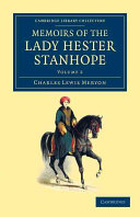 Memoirs of the Lady Hester Stanhope