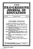 Progressive Journal of Education