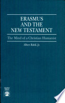 Erasmus and the New Testament