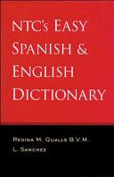 NTC s Easy Spanish   English Dictionary