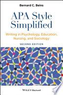 APA Style Simplified Book