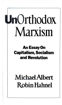 unorthodox marxism an essay on capitalism socialism and title page