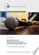 Männlichkeits- und Weiblichkeitskonstruktionen deutschsprachiger Rapper/-innen