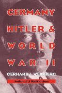 Germany  Hitler  and World War II