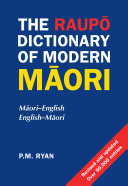 Raupo Dict Of Modern Maori 2e