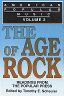American Popular Music The Age Of Rock