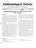 Epidemiological Bulletin