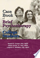 Case Book of Brief Psychotherapy with College Students