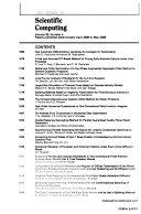 SIAM Journal on Scientific Computing Book