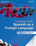 Books - Cambridge Igcse� Spanish As A Foreign Language Teachers Book | ISBN 9781316635551