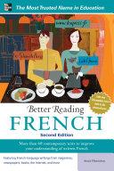 Better Reading French, 2nd Edition Pdf/ePub eBook