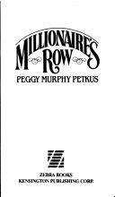 Millionaire s Row Book