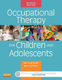 Occupational Therapy For Children And Adolescents Book PDF